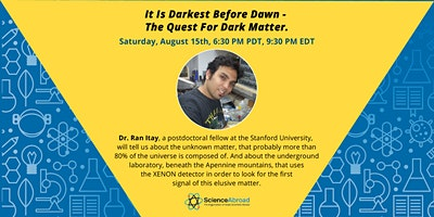 """Science on the Rocks- """"The quest for dark matter"""""""