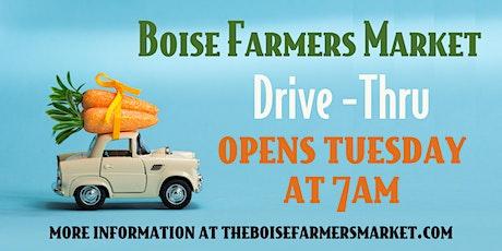 Boise Farmers Market Drive-Thru 8/8/20 tickets