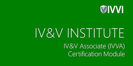 IVVA Certification Training tickets
