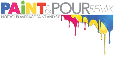 Paint & Pour Remix, a paint & and sip remix experience in Jonesboro GA tickets