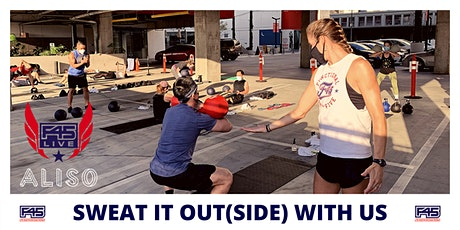 F45 + ALISO PRIVATE OUTDOOR WORKOUT (TICKET REQUIRED) tickets