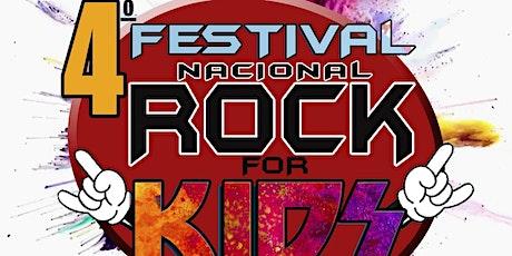 DESCONTÃO + INGRESSO GRÁTIS: 4o Festival Nacional Rock for Kids ingressos