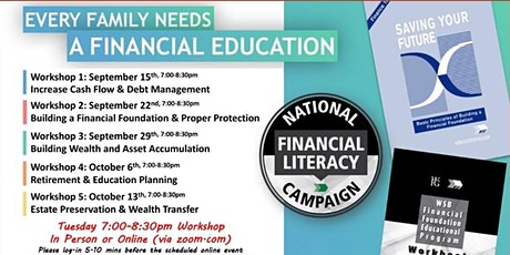 Financial Education Workshop - Tuesday tickets