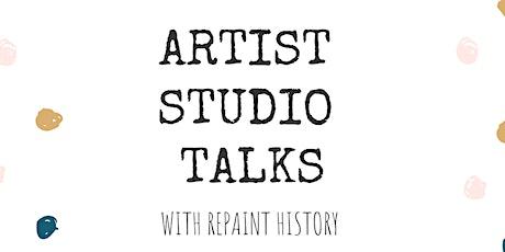 Repaint History Presents: Artist Studio Talks tickets