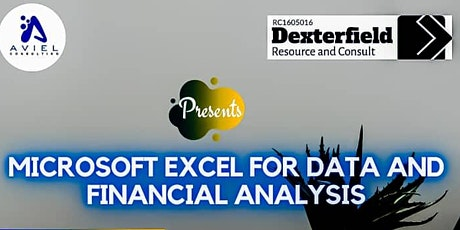 Microsoft Excel for Data and Financial Analysis tickets