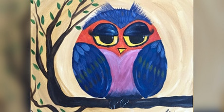 Owl Paint & Sip tickets