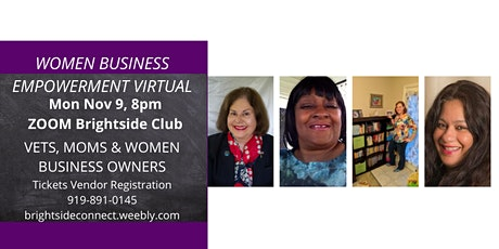 Women Empowerment Business Virtual VETS, MOMS AND WOMEN IN BUSINESS tickets