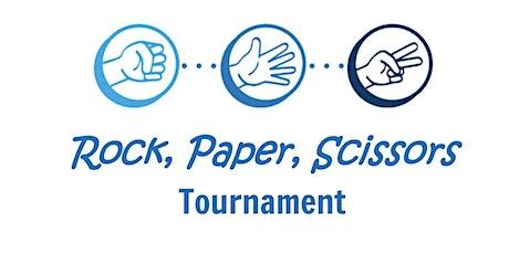 ROCK, PAPER, SCISSORS TOURNAMENT tickets