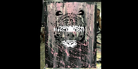 Tiger Paint and Sip Party  19.9.20 tickets