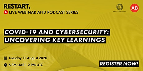 RESTART Webinar - Covid-19 and Cybersecurity: Uncovering Key Learnings tickets
