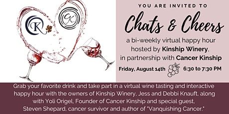 Kinship Winery & Cancer Kinship Present: Chats & Cheers Virtual Happy Hour tickets
