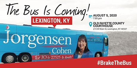 BUS TOUR: Dr. Jo is coming to Lexington, KY tickets