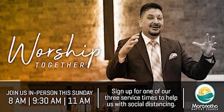 Maranatha Worship Services | August 9 tickets