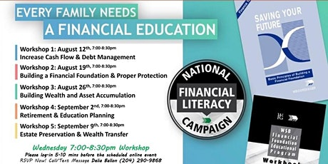 Financial Education Workshop - Wednesday tickets