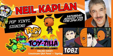 POP SWAP SIGNING #5 TOY-ZILLA with NEIL KAPLAN tickets