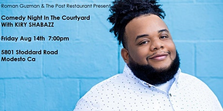 Comedy Night In The Courtyard Starring Kiry Shabazz tickets