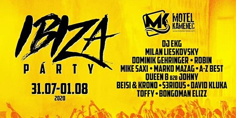 Ibiza Party 2020 | Motel  Kamenec tickets
