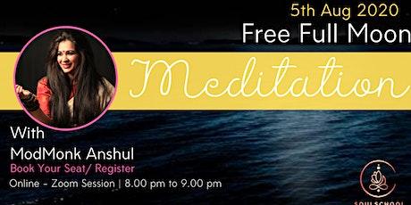 Free Full Moon Meditation tickets