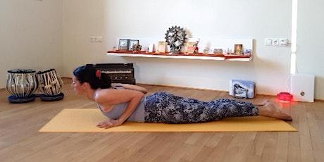 Online-Yoga-Class Live, 90 Min. in Deutsch Tickets