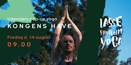 Pop-up Yoga /// Kongens Have tickets