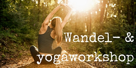 Wandel- en yogaworkshop tickets