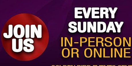 RHOGIC Sunday Celebration Service - 16th August 2020 tickets