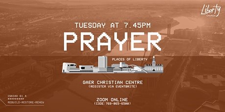 Tuesday 4th August 2020: Evening Prayer tickets