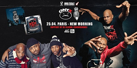 Lords Of The Underground & Onyx Live in Paris billets