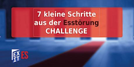 """""""7 kleine Schritte aus der ES"""" Challenge Tickets"""