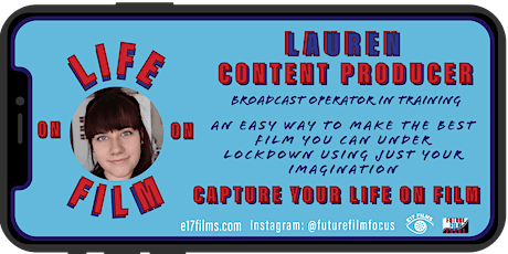 Smartphone Life on Film - Workshop 2 - Looking Inside to  My World tickets