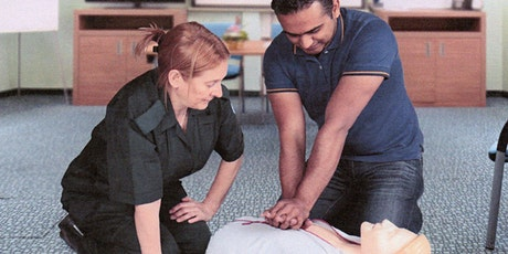First Aid at work annual  training tickets