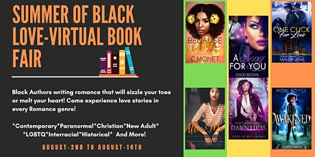 Summer of Black Love Virtual Book Fair tickets