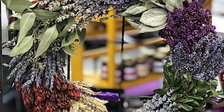 Lavender & Herb Wreath-Making Workshop (Outdoors) tickets