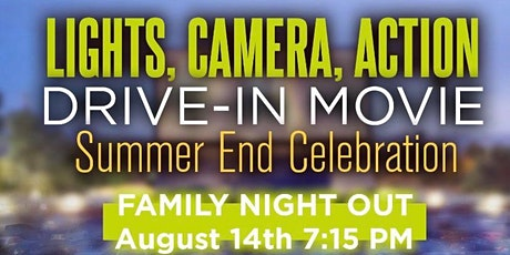 Drive In Movie - Summer End Celebration tickets