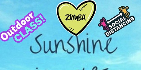ZUMBA  ON. THE OUTSIDESUNDAY   AUGUST .  9TH 11AM tickets
