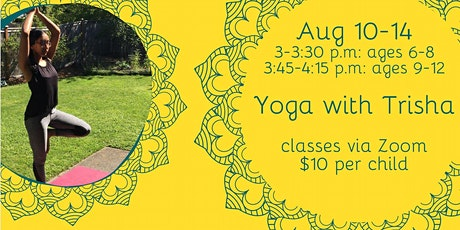 Yoga with Trisha tickets