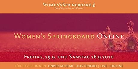Women's Springboard Online 2020 Tickets