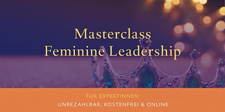 Masterclass Feminine Leadership Tickets