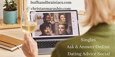 Singles Ask & Answer -Online Dating Advice Session w/Certified Dating Coach tickets