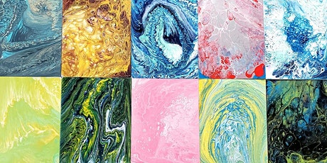 Fluid Acrylic Pouring Workshop tickets