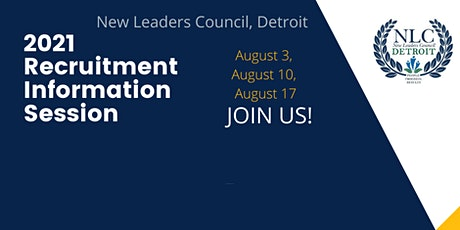 New Leaders Council Detroit 2021 Recruitment Information Sessions tickets
