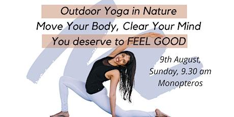 Outdoor Yoga in Englisher Garden, Munich tickets