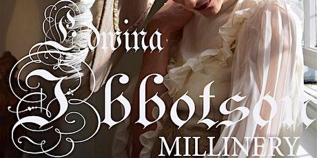 EDWINA IBBOTSON MILLINERY  PORTRAITURE CLASS- ONLINE DRAWING tickets