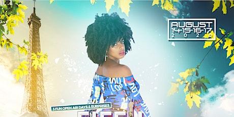 3 Jours de Kizomba à la Tour Eiffel / Live Show Jennifer Show billets