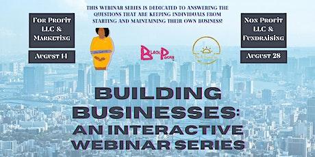 Building Business Interactive Webinar tickets