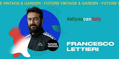 FRANCESCO LETTIERI // Future Vintage 2020 biglietti