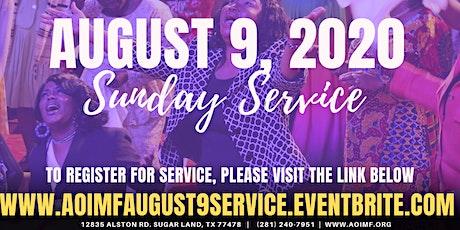 SUNDAY SERVICE 8.09.2020 tickets