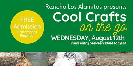 Cool Crafts on the Go - August 12, 2020 - 10:30 AM tickets