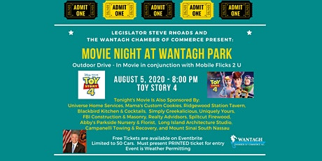 Movie Night at Wantagh Park - Toy Story 4- Free Family Fun! tickets