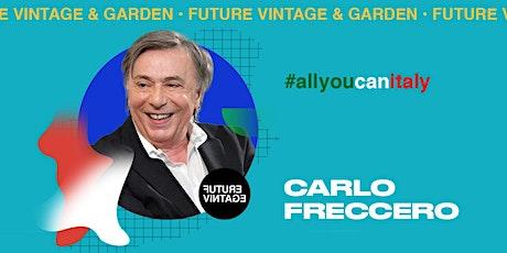 CARLO FRECCERO // Future Vintage 2020 biglietti